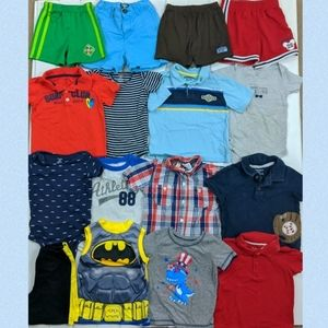 Boys 24 month Short Sleeve Shirts & Short Bundle
